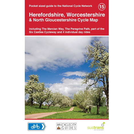 Sustrans National Cycle Network - Heref. Worc. Cycle Map (15)