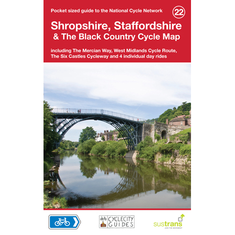 Sustrans National Cycle Network - Shrop. & Staffs. Cycle Map (22)