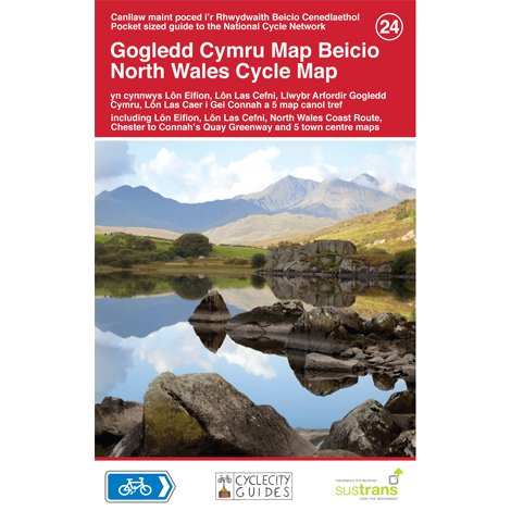 Sustrans National Cycle Network - North Wales Cycle Map (24)