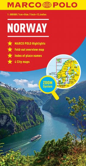 Norway Marco Polo Map
