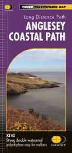 Harvey National Trail Map - The Anglesey Coastal Path
