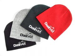 Dash4it Pull-On Beanie Hat - Stone