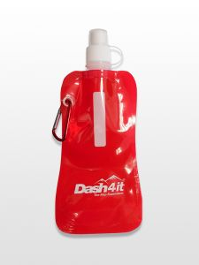 Dash4it Foldable Drinks Bottle - Red