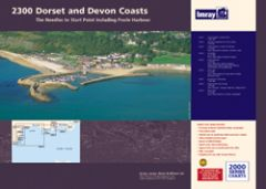Imray 2000 Series Chart Pack - Dorset & Devon Coasts (2300)