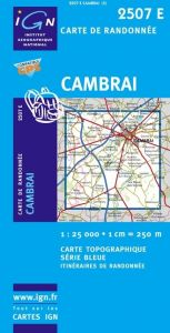 IGN Top 25/Bleue - Cambrai (Ouest) / Marcoing