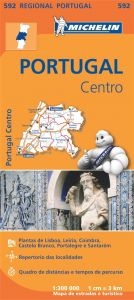 Michelin Regional Map - 592-Portugal Centro (C)