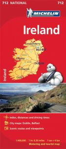 Michelin National Map - 712-Ireland