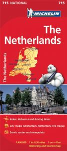 Michelin National Map - 715-Netherlands