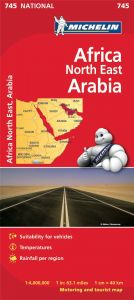 Michelin National Map - 745-Africa North & East