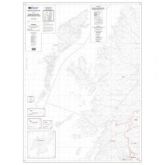 OS Admin Boundry Map - West Scotland