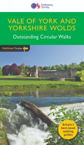 OS Crimson Pathfinder Guide - Vale of York & Yorkshire Wolds
