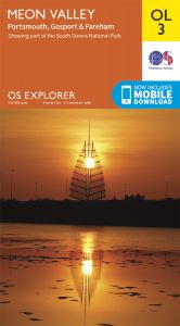 OS Explorer Leisure - OL3 - Meon Valley