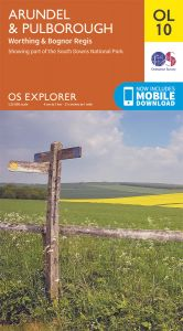 OS Explorer Leisure - OL10 - Arundel & Pulborough