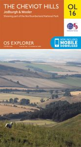 OS Explorer Leisure - OL16 - The Cheviot Hills