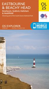 OS Explorer Leisure - OL25 - Eastbourne & Beachy Head