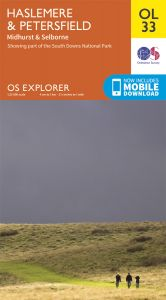 OS Explorer Leisure - OL33 - Haslemere & Petersfield