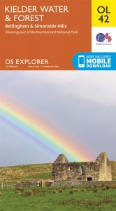 OS Explorer Leisure - OL42 - Kielder Water & Forest