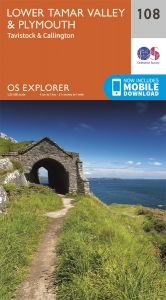 OS Explorer - 108 - Lower Tamar Valley & Plymouth