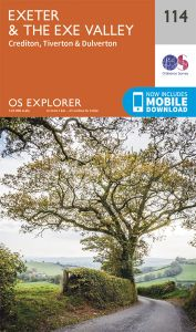 OS Explorer - 114 - Exeter & Exe Valley