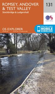 OS Explorer - 131 - Romsey, Andover & Test Valley