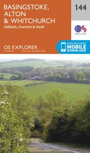 OS Explorer - 144 - Basingstoke, Alton & Whitchurch