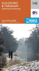 OS Explorer - 145 - Guildford & Farnham
