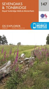 OS Explorer - 147 - Sevenoaks & Tonbridge