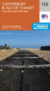 OS Explorer - 150 - Canterbury & the Isle of Thane