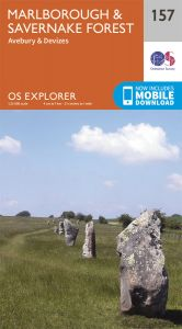 OS Explorer - 157 - Marlborough & Savernake Forest