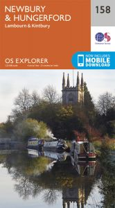 OS Explorer - 158 Newbury & Hungerford