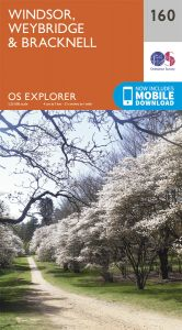 OS Explorer - 160 - Windsor, Weybridge & Bracknell