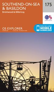 OS Explorer - 175 - Southend-on-Sea & Basildon