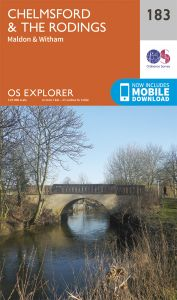 OS Explorer - 183 - Chelmsford & The Rodings