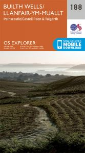 OS Explorer - 188 - Builth Wells/Llanfair-ym-Muallt