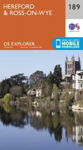 OS Explorer - 189 - Hereford & Ross-on-Wye