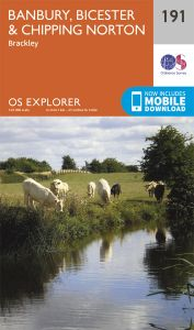 OS Explorer - 191 - Banbury, Bicester & Chipping Norton