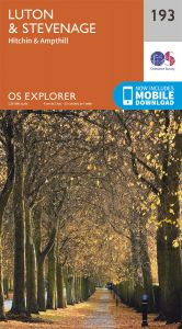 OS Explorer - 193 - Luton & Stevenage