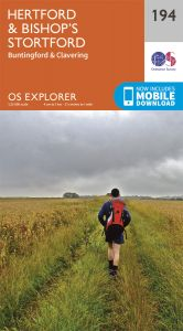 OS Explorer - 194 - Hertford & Bishop's Stortford