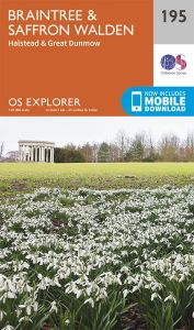 OS Explorer - 195 - Braintree & Saffron Walden