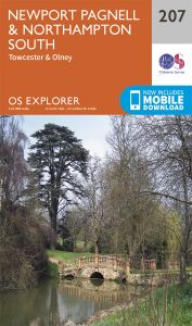 OS Explorer - 207 - Newport Pagnell & Northampton