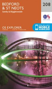 OS Explorer - 208 - Bedford & St Neots
