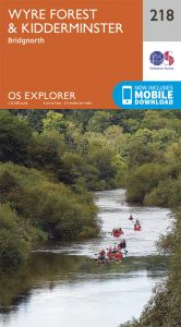 OS Explorer - 218 - Kidderminster & Wyre Forest