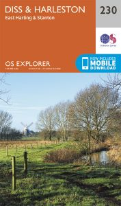 OS Explorer - 230 - Diss & Harleston