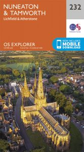 OS Explorer - 232 - Nuneaton & Tamworth