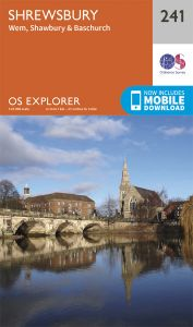 OS Explorer - 241 - Shrewsbury