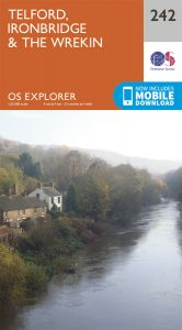 OS Explorer - 242 - Telford, Ironbridge & The Wrekin