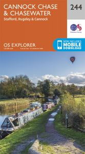 OS Explorer - 244 - Cannock Chase & Chasewater