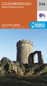 OS Explorer - 246 - Loughborough