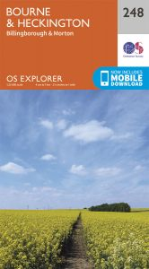 OS Explorer - 248 - Bourne & Heckington