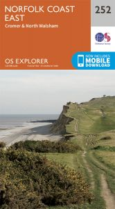 OS Explorer - 252 - Norfolk Coast East